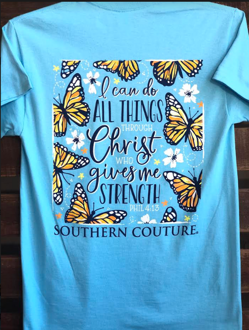 Southern Couture Do All Things Sky Blue