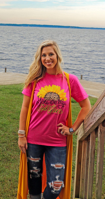 Southern Couture My Sunshine Front Print Heliconia
