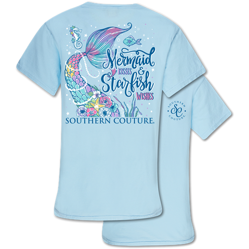 Southern Couture Mermaid Kisses Chambray