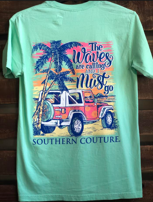 Southern Couture Waves Are Calling Island Reef