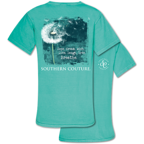 Southern Couture Hope Dream Wish Chalky Mint