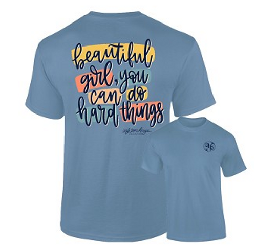 Southernology You Can Do Hard Things Tee