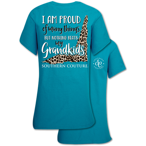 Southern Couture Proud of Many Things Tropical Blue