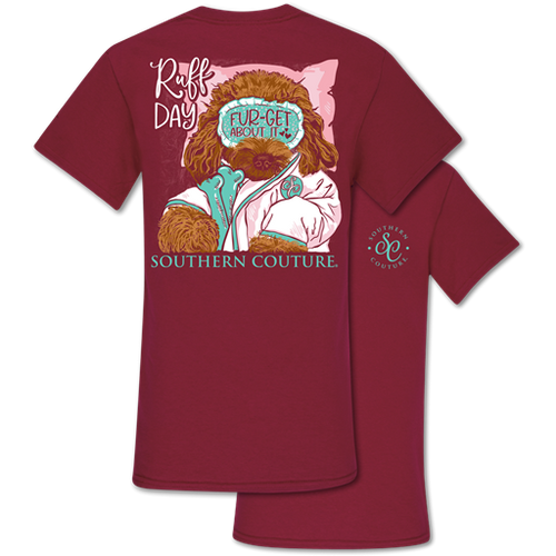 Southern Couture Ruff Day Garnet