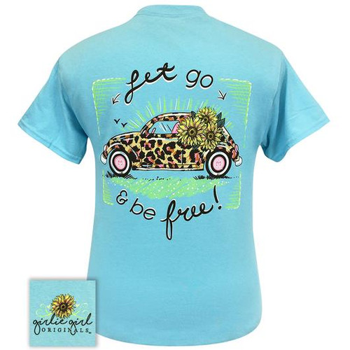 Girlie Girl Originals Leopard Volkswagon Sky Blue
