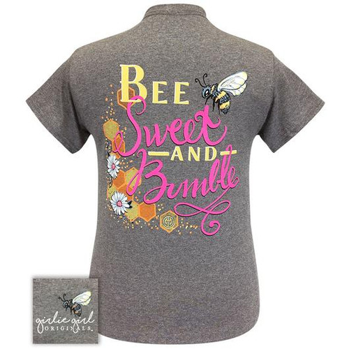 Girlie Girl Originals Bee Sweet Graphite Heather