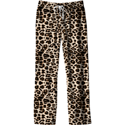 Southern Couture Lounge Pants Leopard