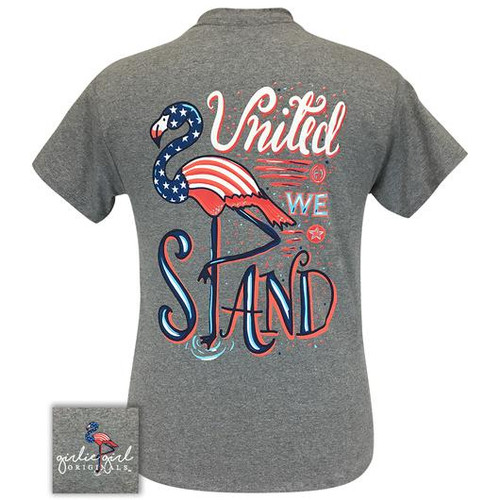 Girlie Girl Originals United We Stand Graphite Heather