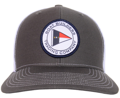 Boat Builders Trading Co. NC Circle Flag Patch Hat