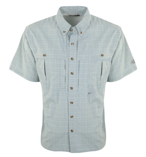 Drake Wingshooter's  Plaid Sun Shirt Ether