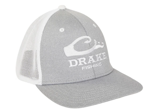 Drake DPF Stretch Fit Cap Heather Gray/White