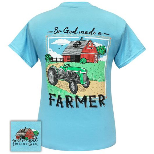 Girlie Girl Originals Farmer Sky Blue