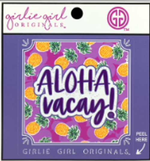 Girlie Girl Originals Aloha Vacay Decal/Sticker