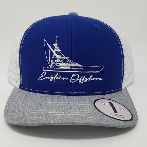 Eastern Offshore Offshore Boat Royal Blue/White/Grey Hat