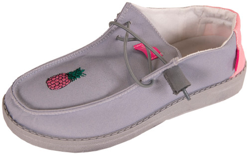 Simply Southern Single Pine Grey Slip On Shoes