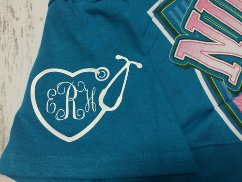 Nurses Monogram Heat Press