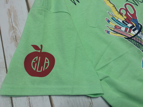 Teacher Monogram Heat Press
