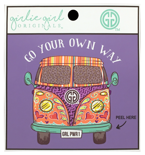Girlie Girl Originals Your Own Way Decal