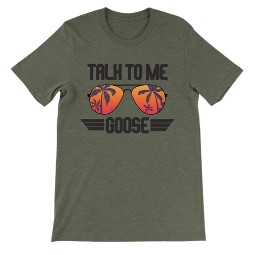 Daydream Tees Talk To Me Goose Palm Trees