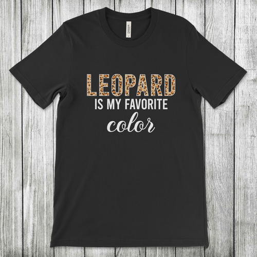 Daydream Tees Leopard