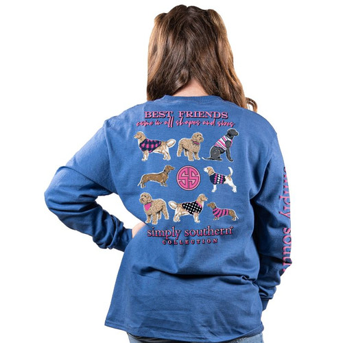 Simply Southern Best Friend Moonrise YOUTH LS