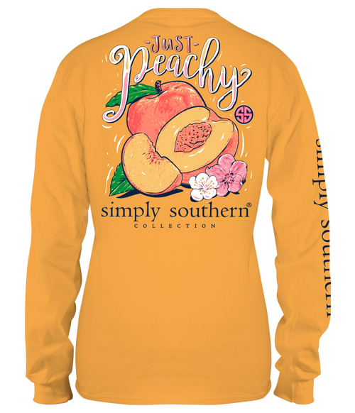 Simply Southern Peachy Mustard LS
