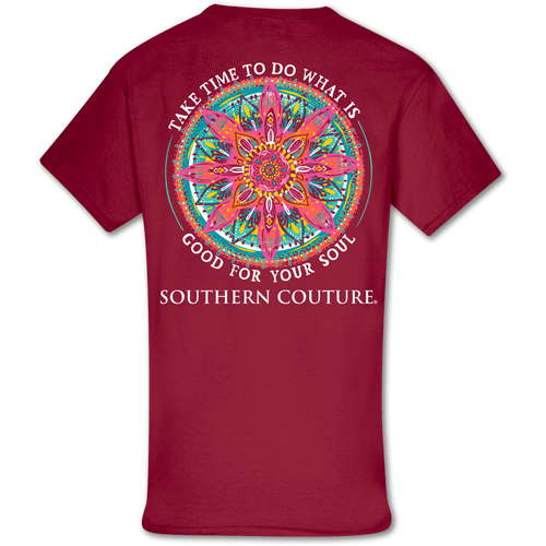 Southern Couture Good For Soul Cardinal Red