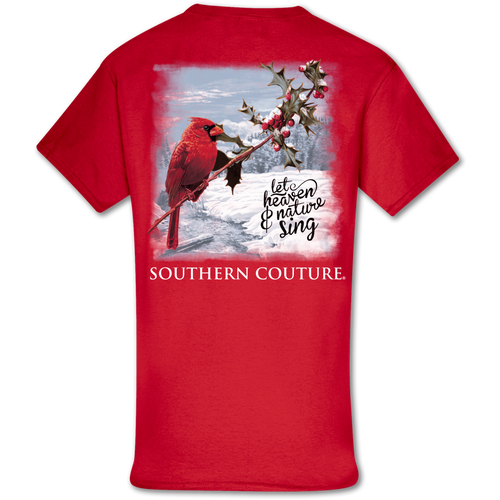 Southern Couture Let Heaven & Nature Sing Red