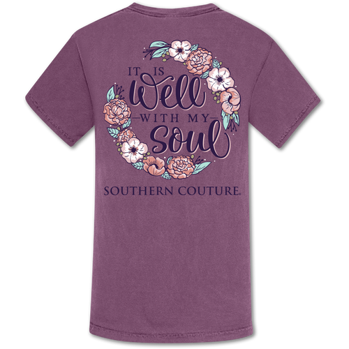 Southern Couture Well with my Soul Berry