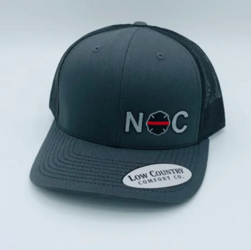 Low Country Maltese Fire Charcoal/Black Hat