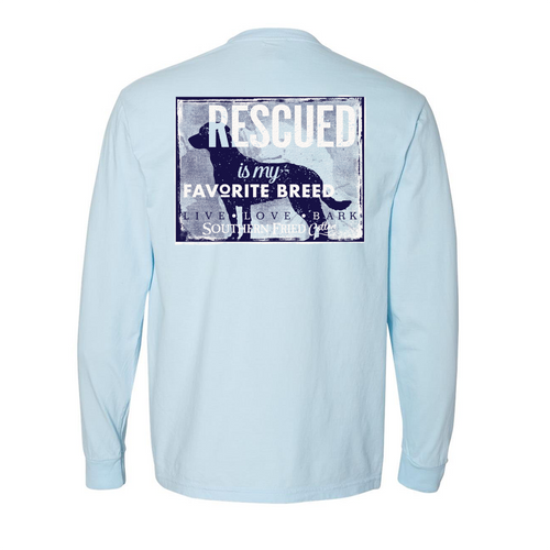 Southern Fried Cotton Rescued Chambray LS