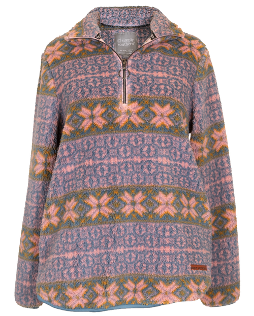 Simply Southern Printed Alpine Sherpa