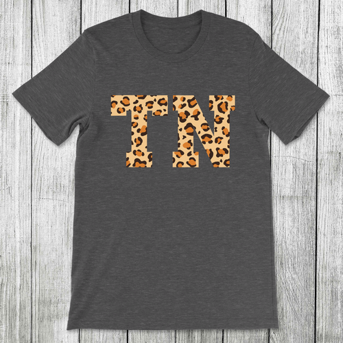 Daydream Tees State Leopard Tennessee