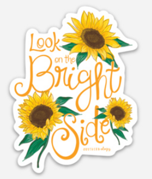 Southernology Look on the Bright Side Decal