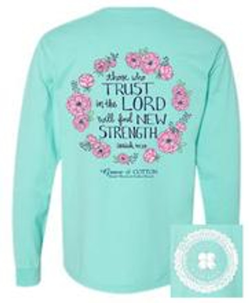Grace & Cotton Trust in The Lord LS