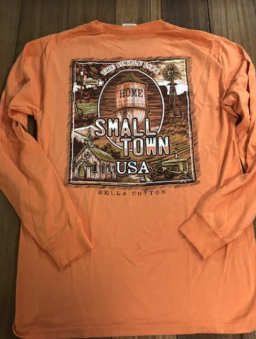 Bella Cotton Small Town USA LS