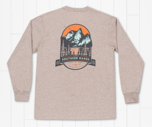 Southern Marsh Mountain Pass Washed Burnt Taupe LS