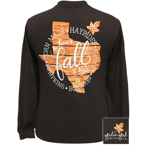 Girlie Girl Originals Texas Fall Dark Chocolate LS