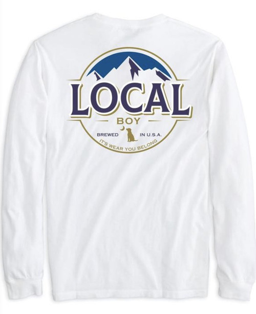 Local Boy Outfitters Busch Latte LS White