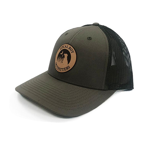 Local Boy Outfitters Leather Patch Loden Hat