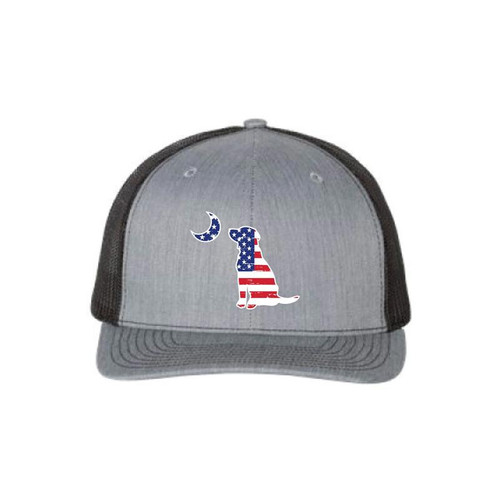 Local Boy Outfitters American Lab Gray/Black Trucker Hat