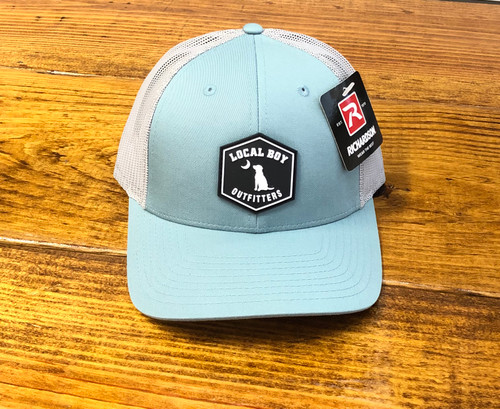 Local Boy Outfitters Rubber Patch Smoke Blue/Aluminum Hat