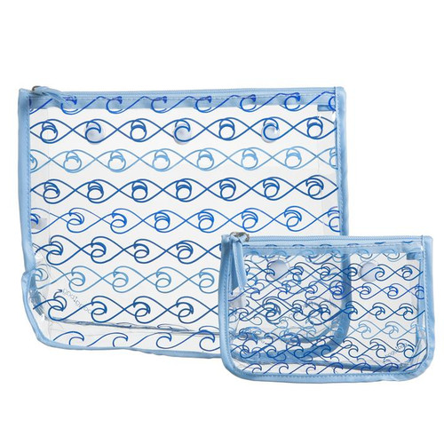 Bogg Bag Insert Bags Blue Waves