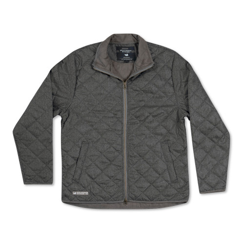 Southern Marsh Newton Quilted Jacket Charcoal Gray
