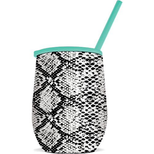 Southern Couture the Winee Snakeskin Tumbler