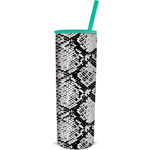 Southern Couture the Skinnee Snakeskin Tumbler