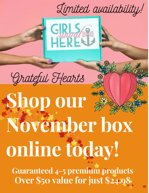 November Box: Grateful Hearts