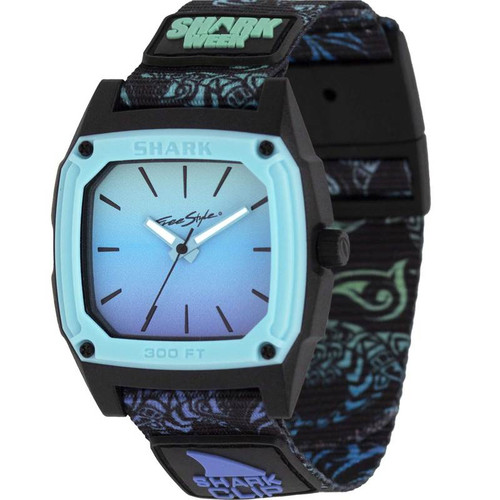 Freestyle Shark Classic Clip Analog Shark Week Tribal Watch