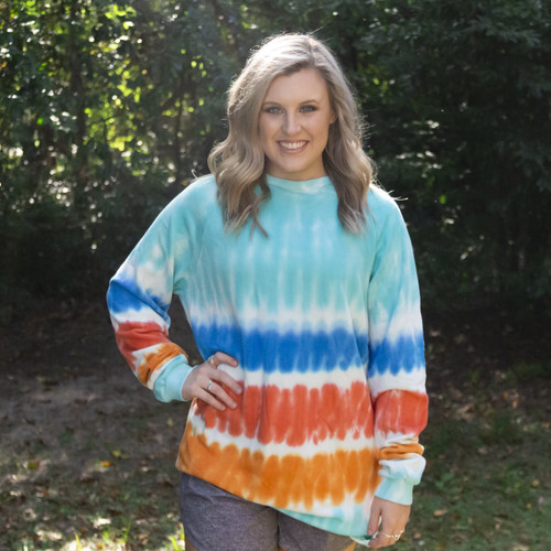 Girlie Girl Originals Tie Dye Pullover