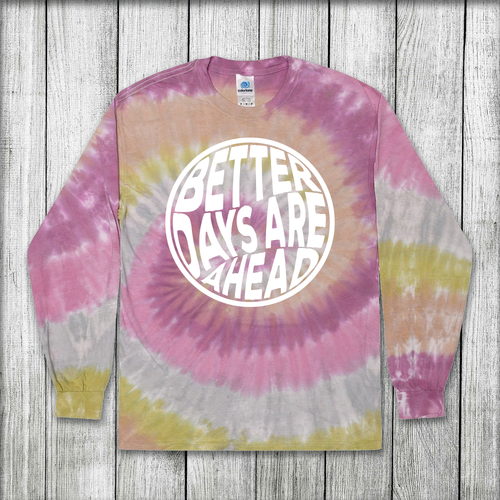 Daydream Tees Better Days - Rose Tie-Dye